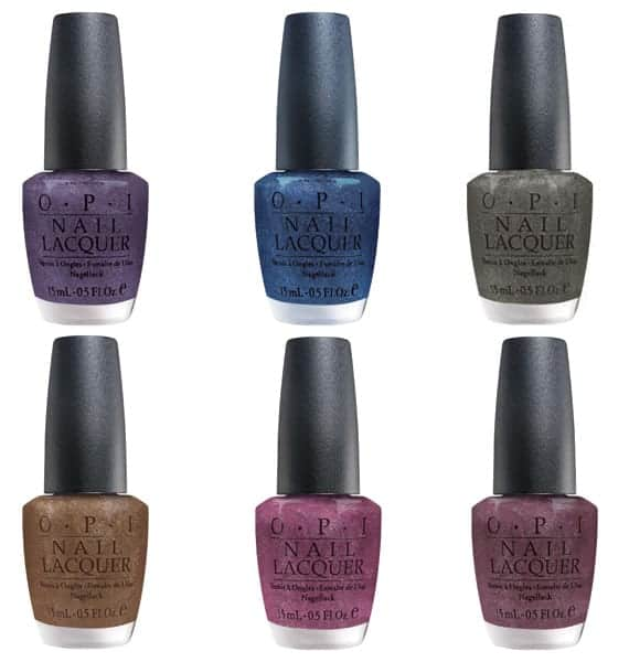Suede Nail Polish: Fall 2009: OPI Suede Nail Polish Collection