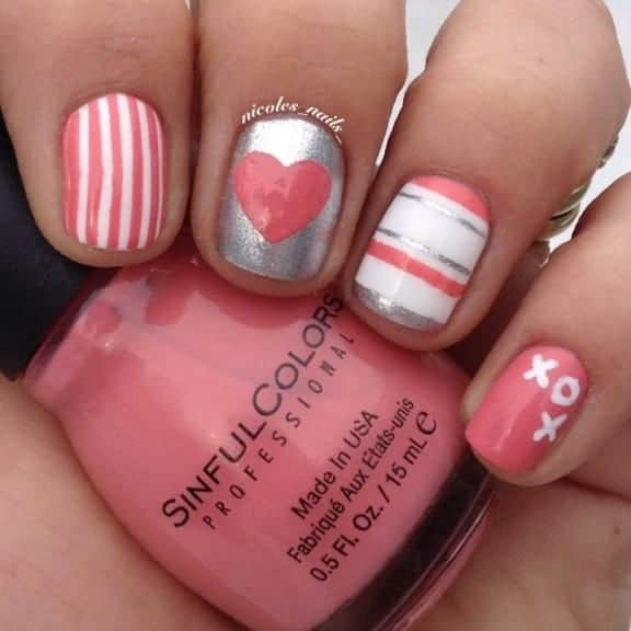 16 Killer Valentine's Day Nail Art and Ideas
