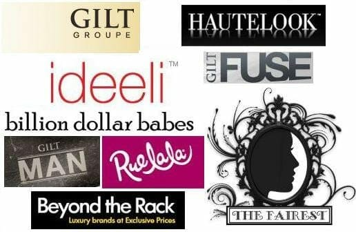 Fashion & Beauty Online Sample Sales Week of 10/21 10/24