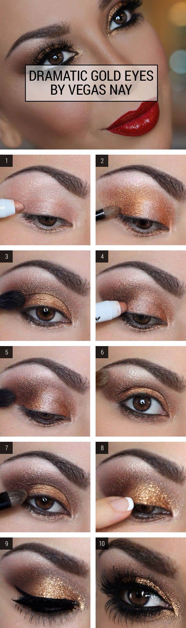 dramatic gold eyes cosmopolitan