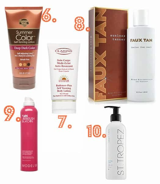 self tanning products,   best self tanning products,   best tanning products