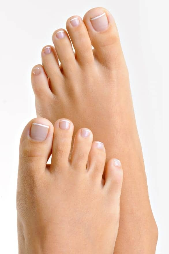 soft smooth beautiful feet