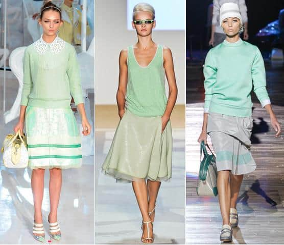 mint green spring 2012