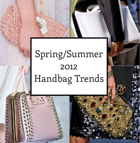 handbag trends spring summer 2012