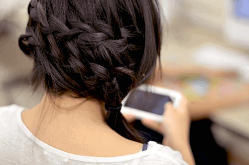 easy waterfall braid tutorial