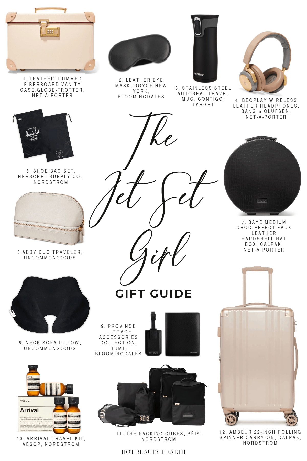 The Jet Set Girl Holiday Gift Guide 2019