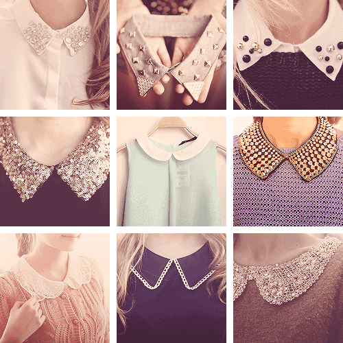 studded collar shirt