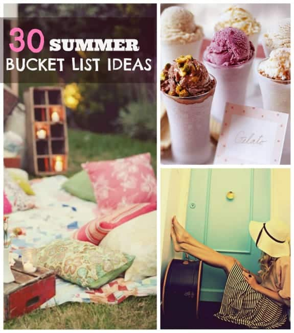 The Ultimate Summer Bucket List for teens, kids, and best friends with over 50 fun ideas and activities. Click over to download and print out this checklist!