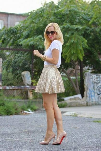 summer outfits mixing textures