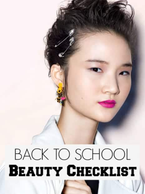 24 Back to School Beauty Essentials
