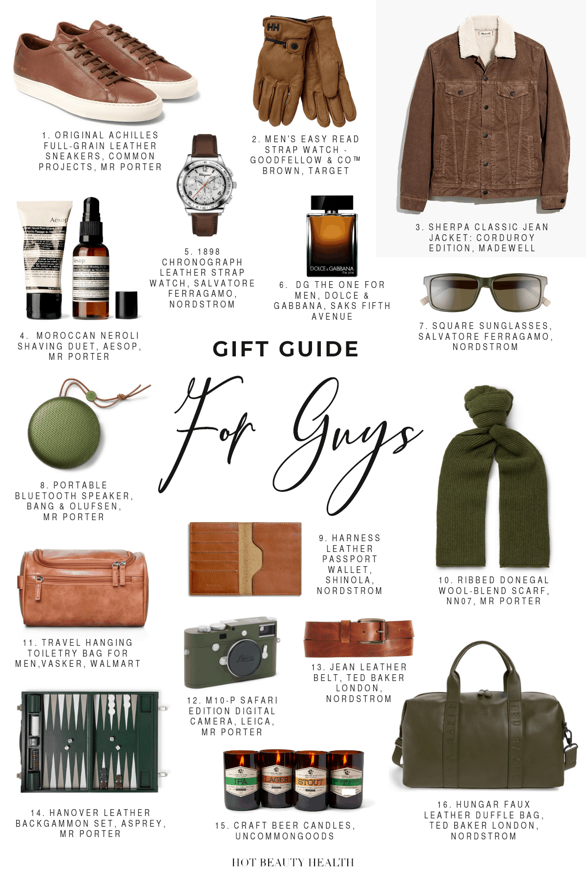 holiday gift guide for guys 2019