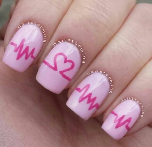 16 Killer Valentines Day Nail Art Ideas