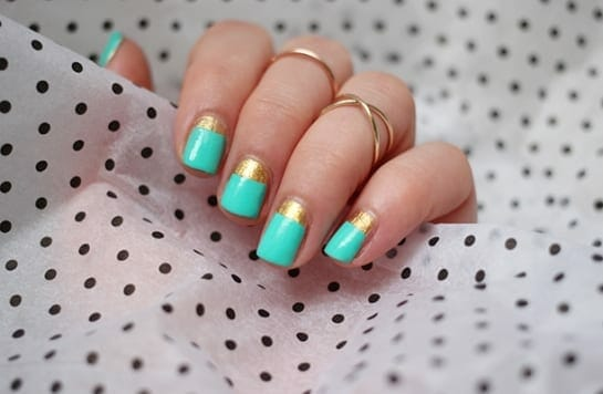 20 simple nail designs for beginners hot beauty health simple nail designs prinsesfo Image collections