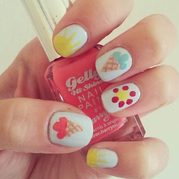 summer nail art 03