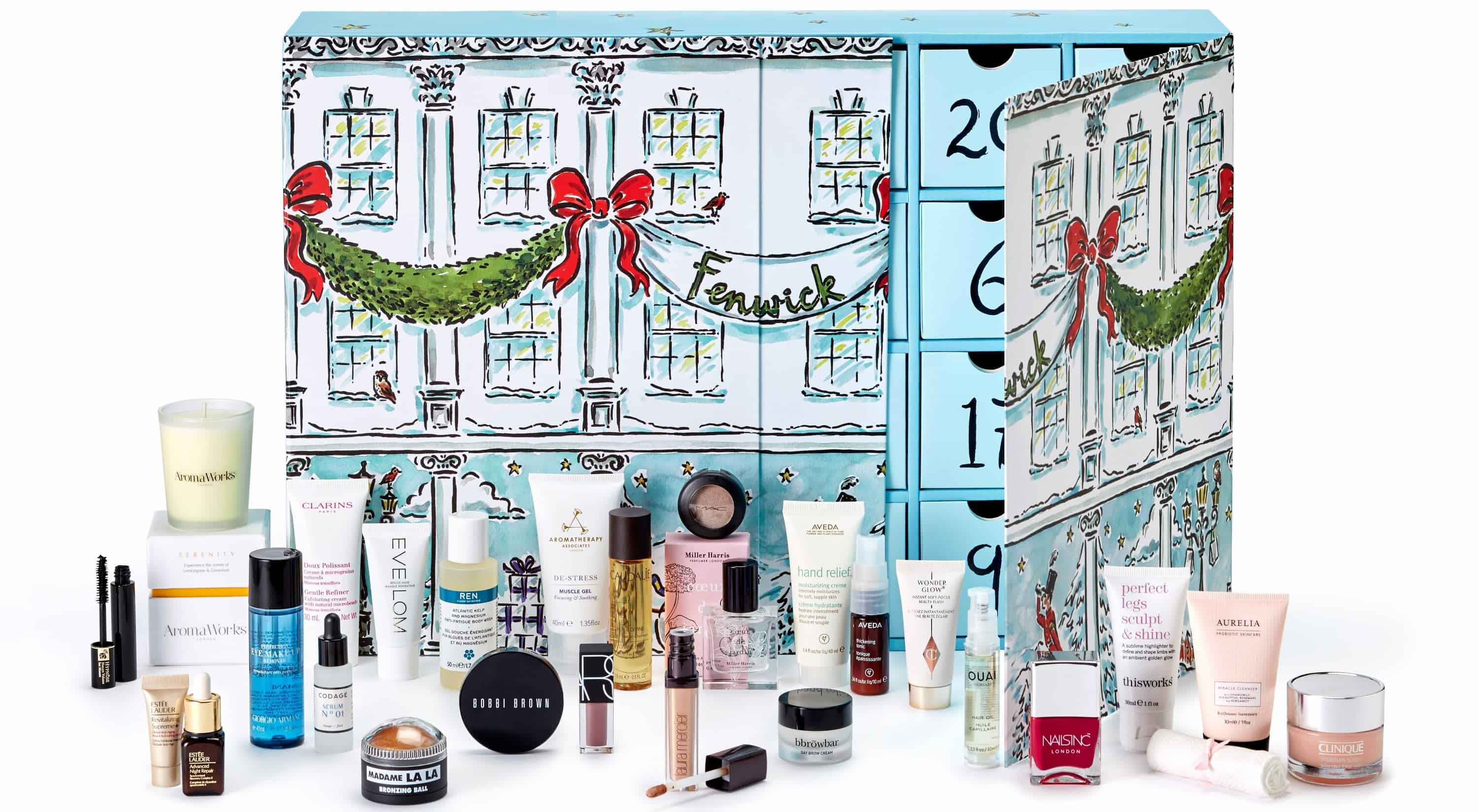 fenwick beauty advent calendar 2017