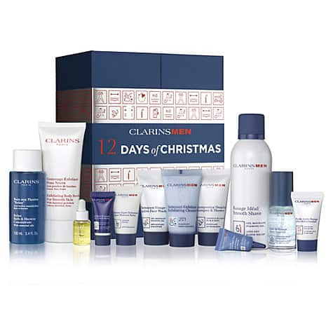 clarinsmen 12 days of christmas beauty advent calendar 2017