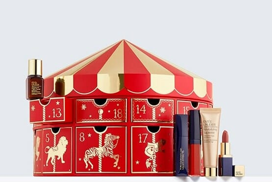 estee lauder holiday countdown 24 beauty surprises advent calendar 2018