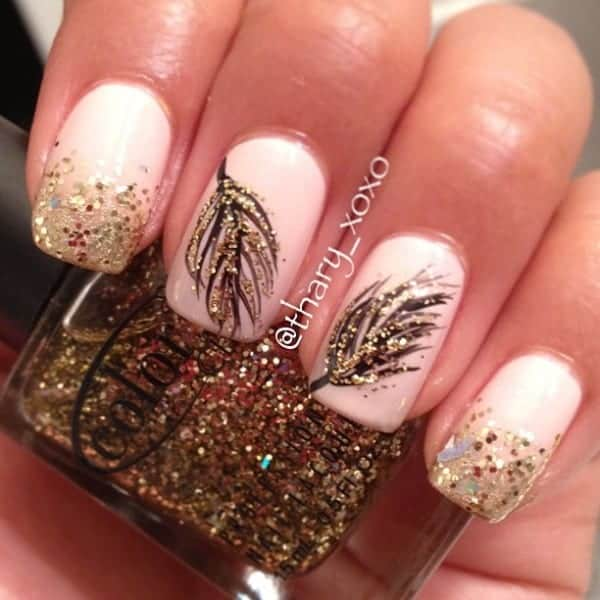 fall nail art 11 fall nail designs you need to try now 12801