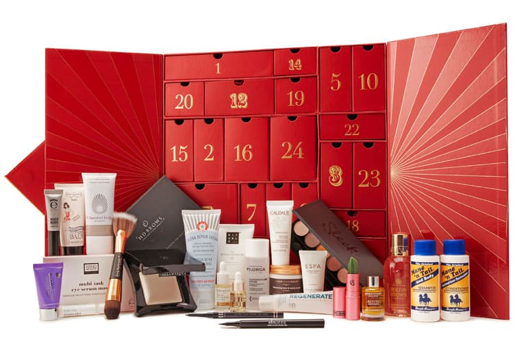lookfantastic beauty advent calendar 2018