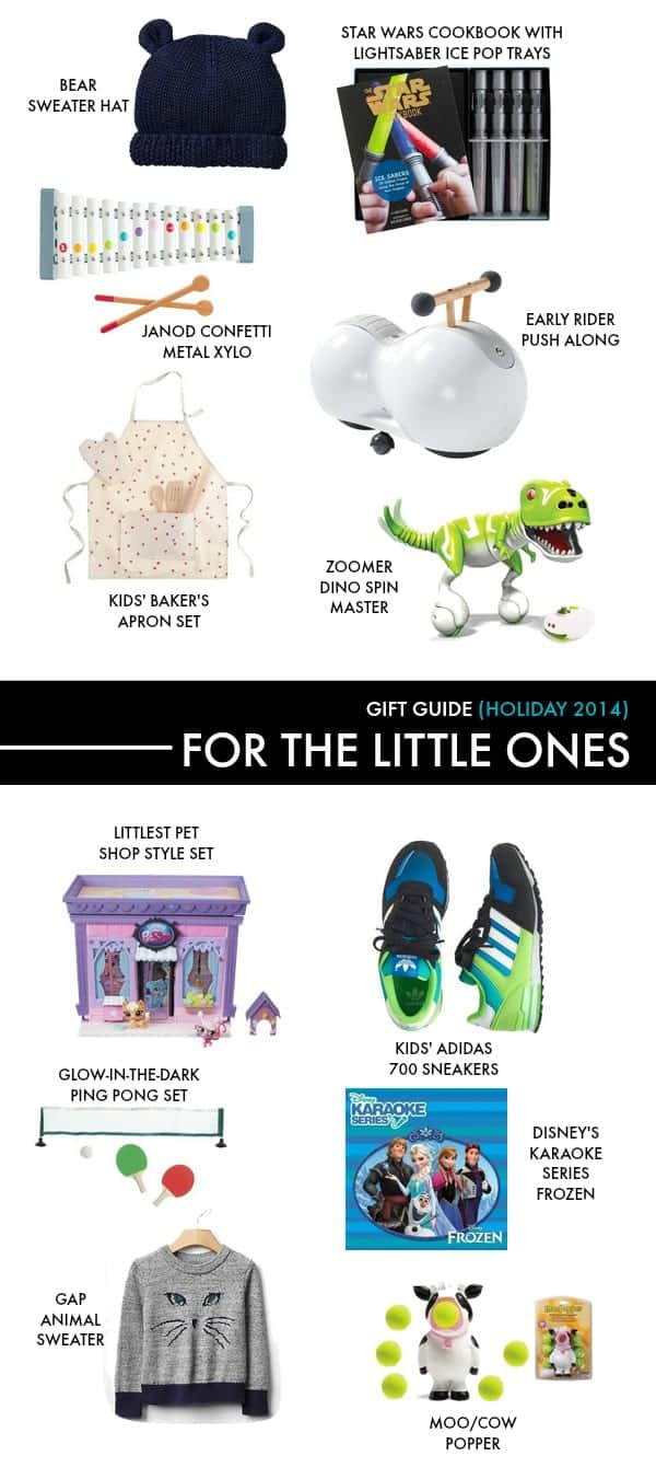 holiday gift guide 2014 for kids