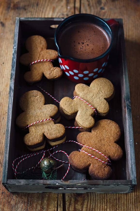 hot chocolate gingerbread