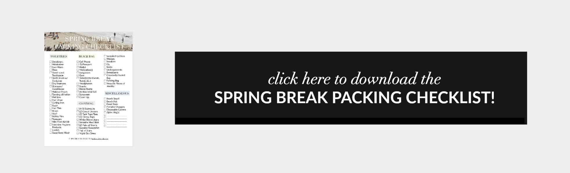 spring break box