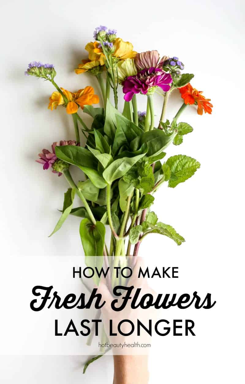 How to make fresh flowers last longer make fresh flowers last longer izmirmasajfo