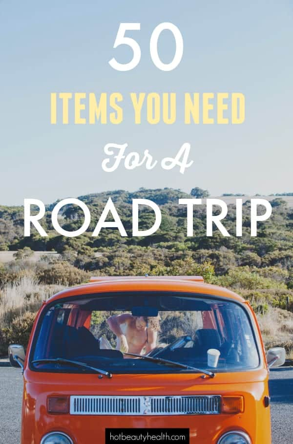 50 Packing Essentials to Survive a Road Trip