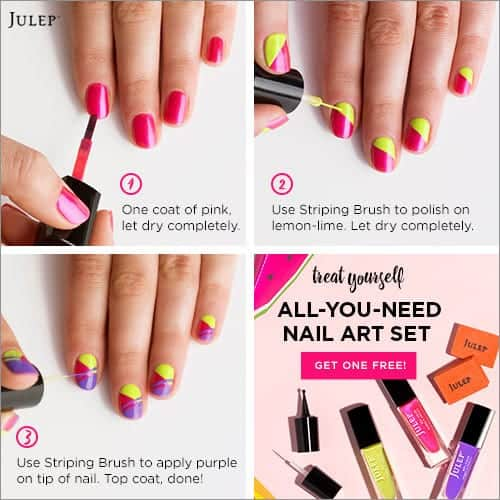 Easy Nail Art Tutorial Julep Maven
