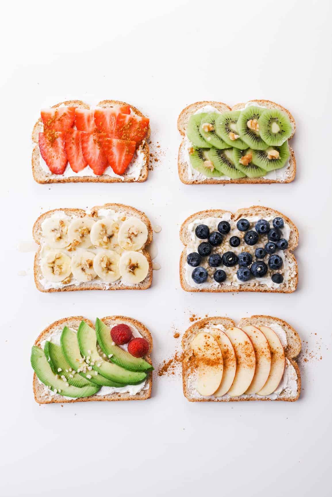 6 Easy & Creative Ways to Fancy Up Breakfast Toasts
