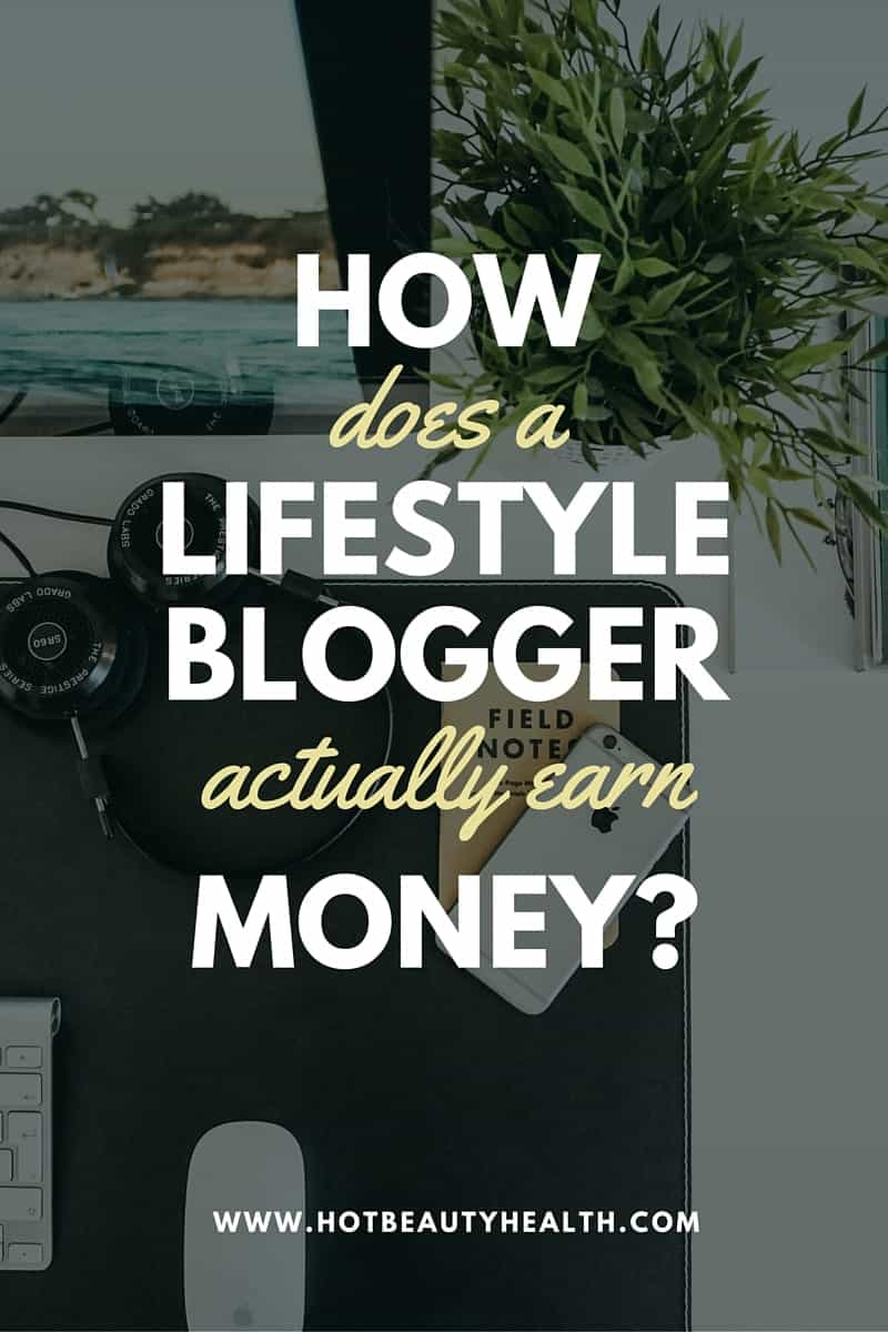 make money lifestyle blogger