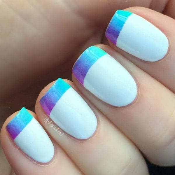 16 Super Cool Ombre/Gradient Nail Art Tutorials - Hot Beauty Health