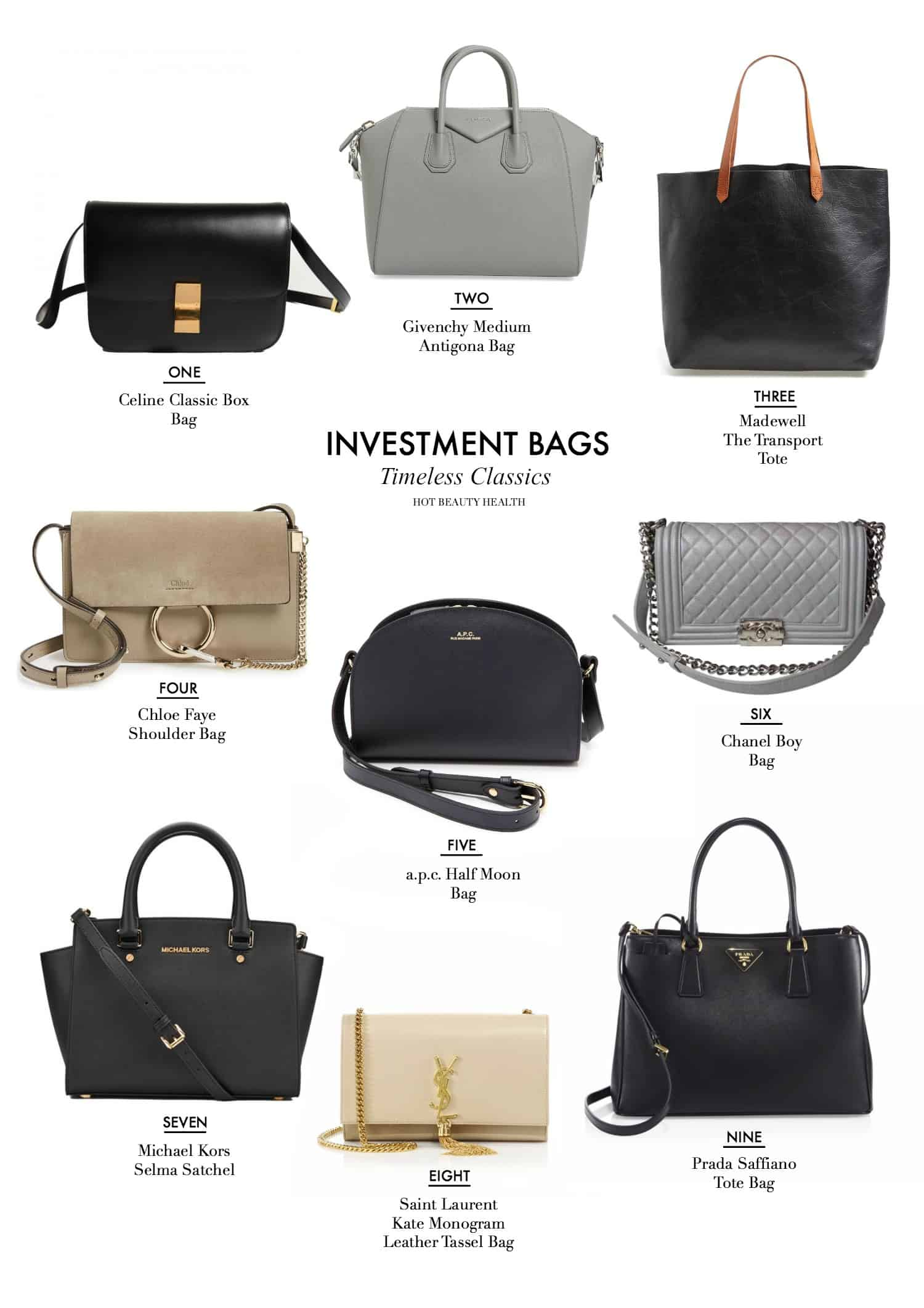 9 Classic Handbags That Are Worth The Investment