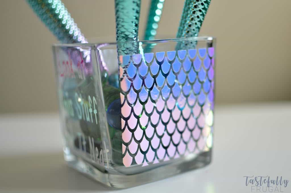 Mermaid-Makeup-Brush-Holder tastefully frugal