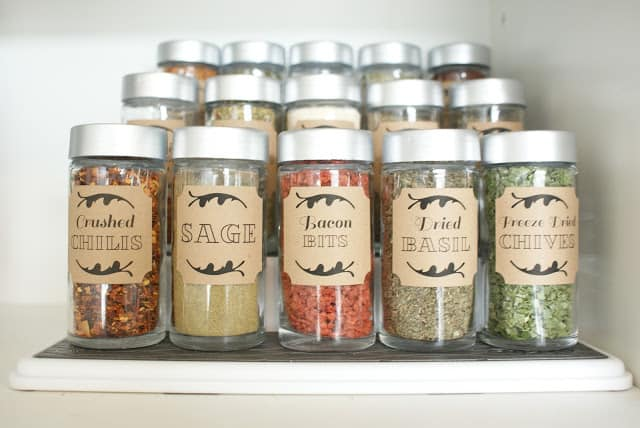 dollar store spice jars the social home