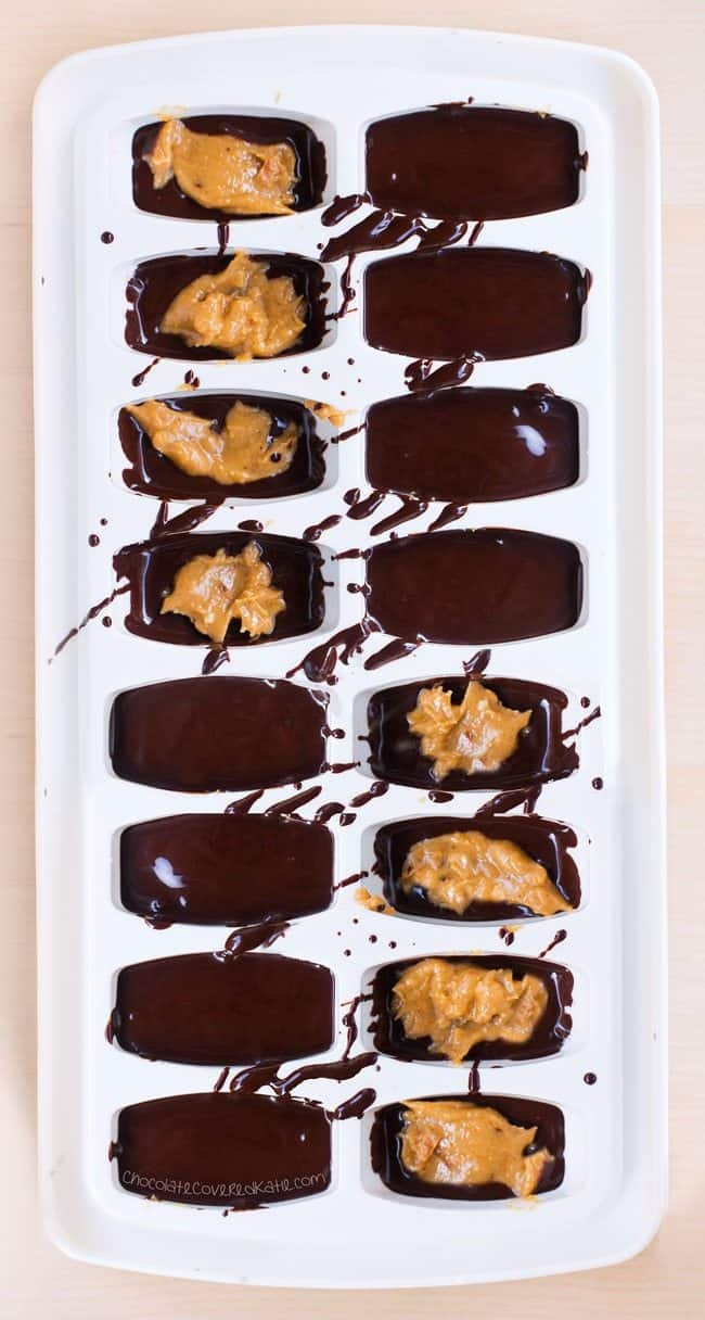 chocolate-peanut-butter-cups-ice-cube-tray