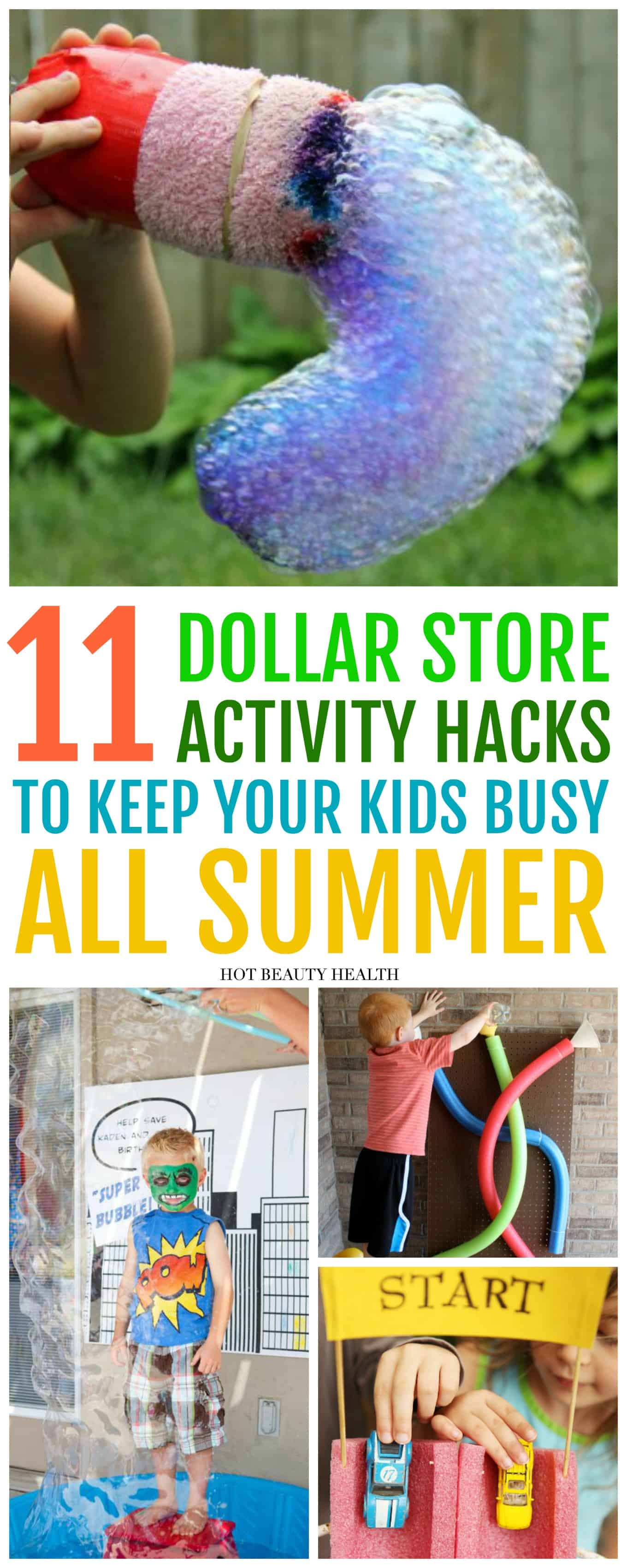 fun summer activities from dollar store