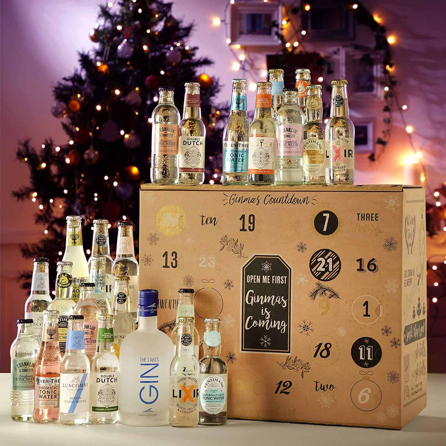the best alcohol advent calendars for christmas hot. Black Bedroom Furniture Sets. Home Design Ideas