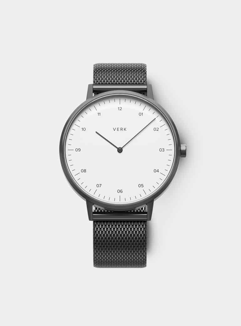 verk gunmetal mesh watch
