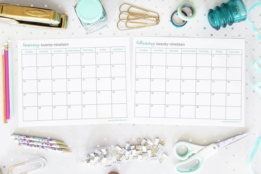 2019-Monthly-Calendars-just-a-girl-and-her-blog