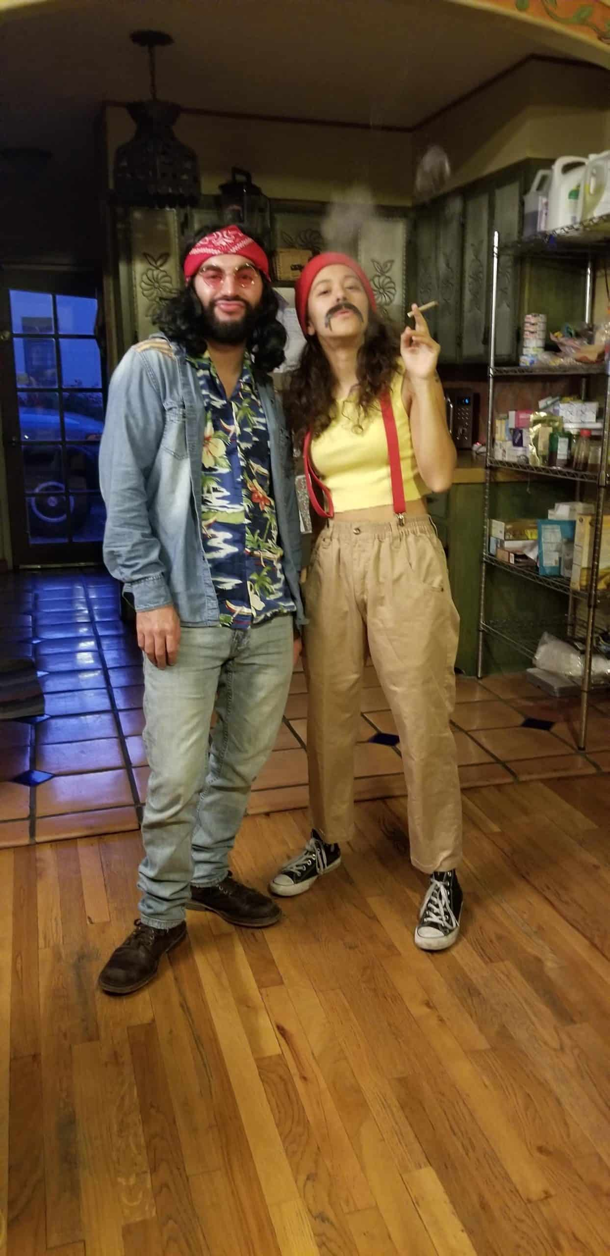 Cheech and Chong for Halloween costume