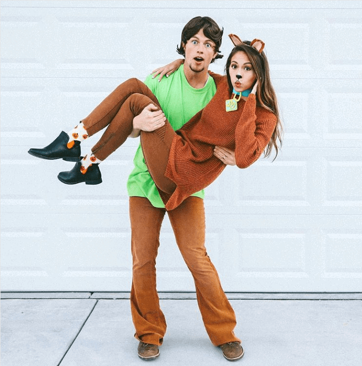 scooby-doo and shaggy costume