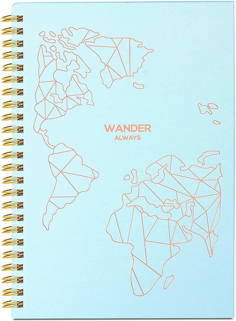 travel gifts lamare travel journal